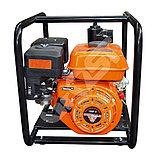 Мотопомпа бензиновая GROST-LIFAN 50ZB60-4.8QT высоконапорная (пожарная), фото 3
