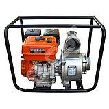 Мотопомпа бензиновая GROST-LIFAN 100ZB26-5.8Q для чистой и слабозагрязненной воды, фото 2