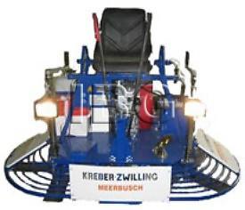 Затирочная машина по бетону (двухроторная) Kreber K 436 2-Т