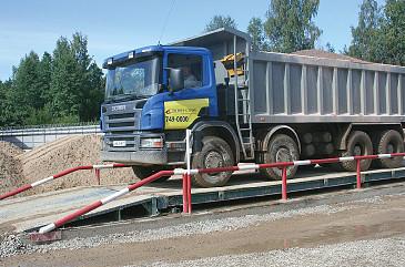 Весы автомобильные 20-150 тонн