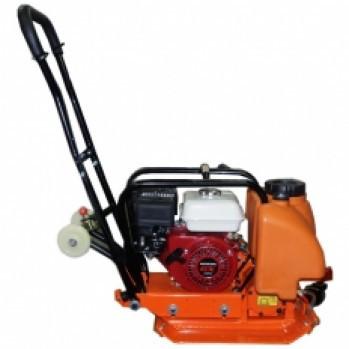 Виброплита VB вес 100 кг с двигателем Honda