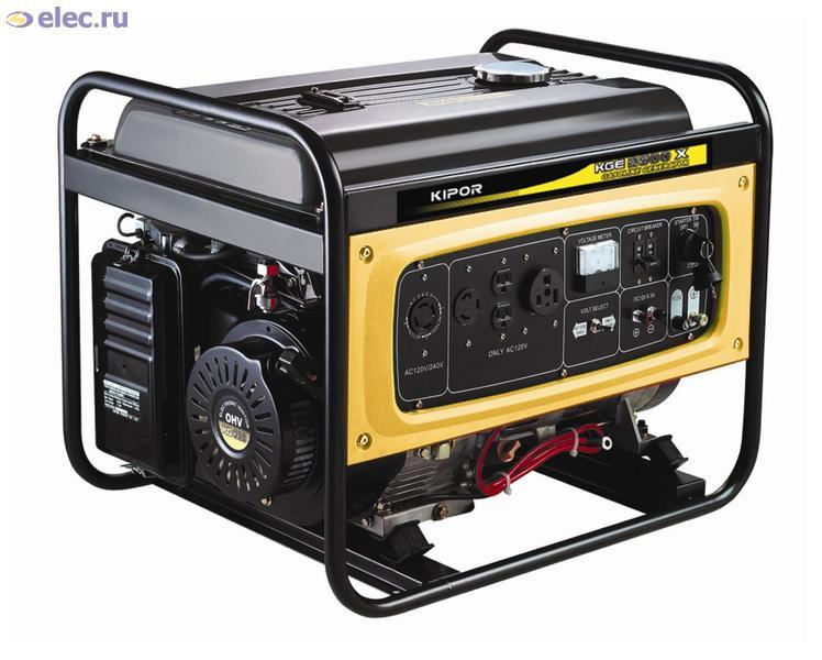 Электрогенератор бензиновый на 1-100 кВт Аренда, продажа