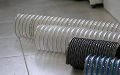 Воздуховод гибкий материал POLI и VINI