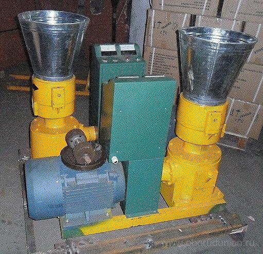 Пеллетайзеры, грануляторы, прессы для брекетирования опилок  LMG-200