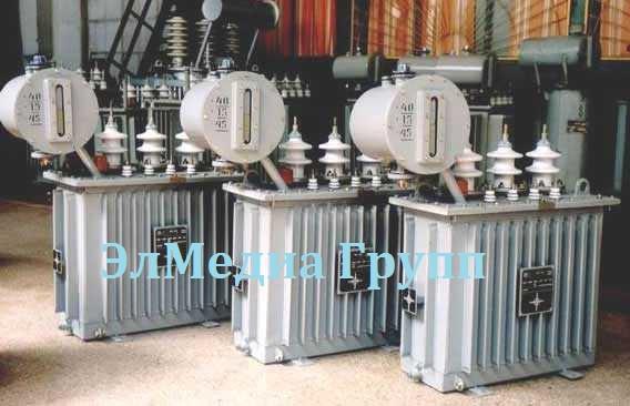 Силовые масляные трансформаторы ТМ, ТМГ,- 630/10 (6)-0.4 кВА на складе