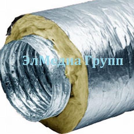 Изолированные воздуховоды различного диаметра, и материала исполнения
