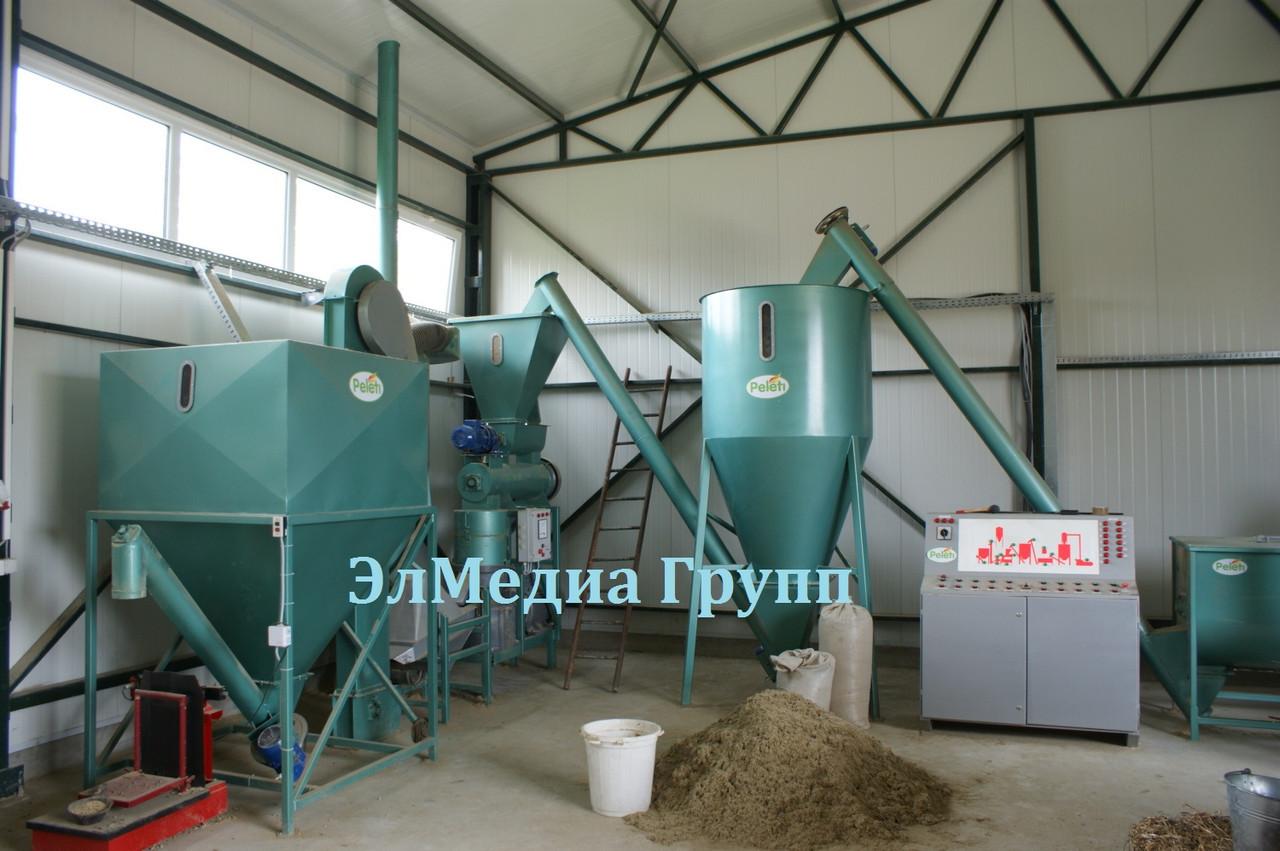 Линия по производству пеллет различной производительности