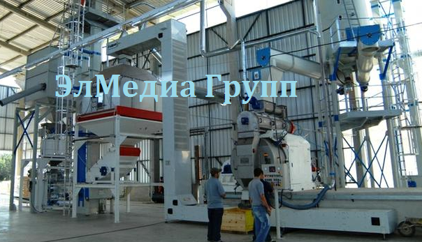 Оборудование для получения топливных гранул линии полного цикла
