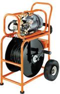 Электрические и бензиновые  высоконапорные водоструйные аппараты для прочистки труб Посейдон , все модели
