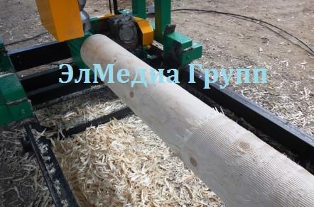 Оцилиндрованное бревно, станок для производства Тайга, Кедр , Авангард, Алтай