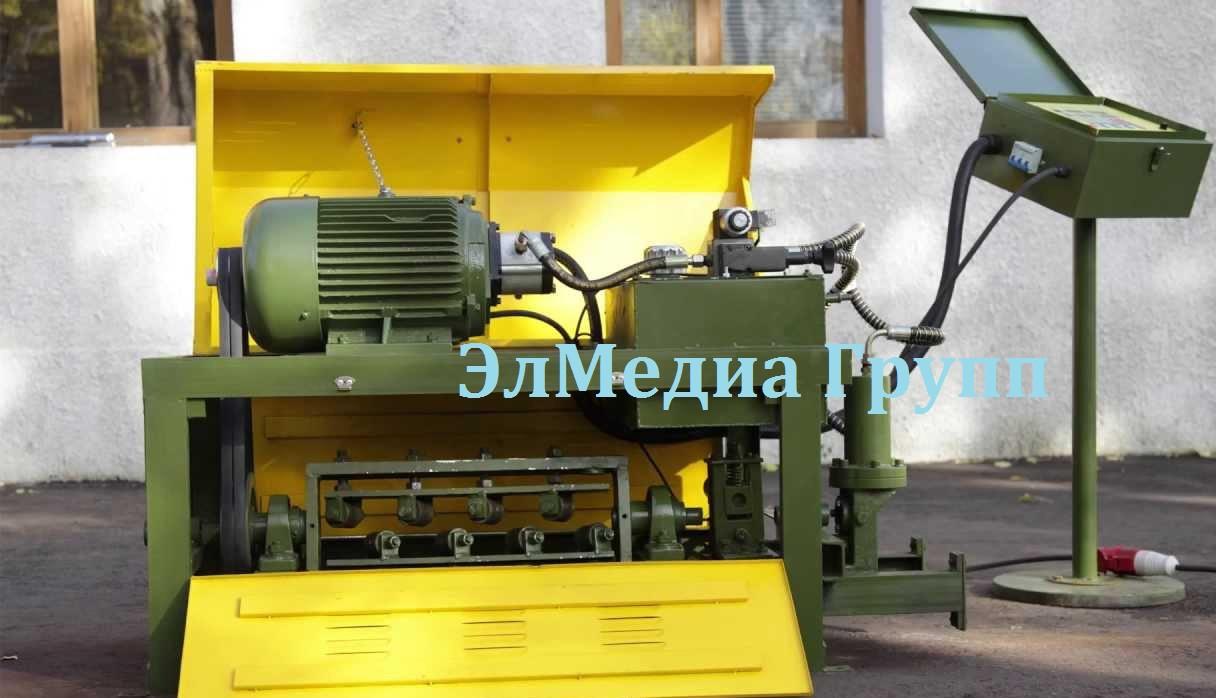 Правильно-отрезной станок для арматуры ПРО-12 Автомат
