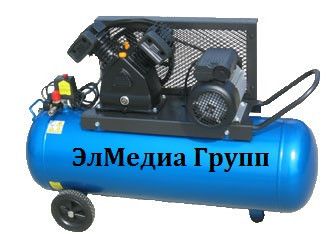 Ременный компрессор, множество моделей, различный объем ресивера.