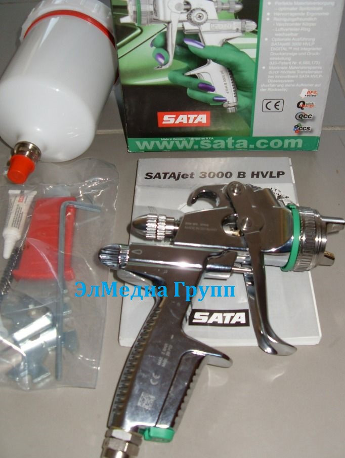 Sata краскопульты покрасочные пистолеты, комплектующие