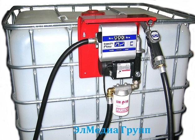 Мобильный топливный модуль для заправки дизельным топливом