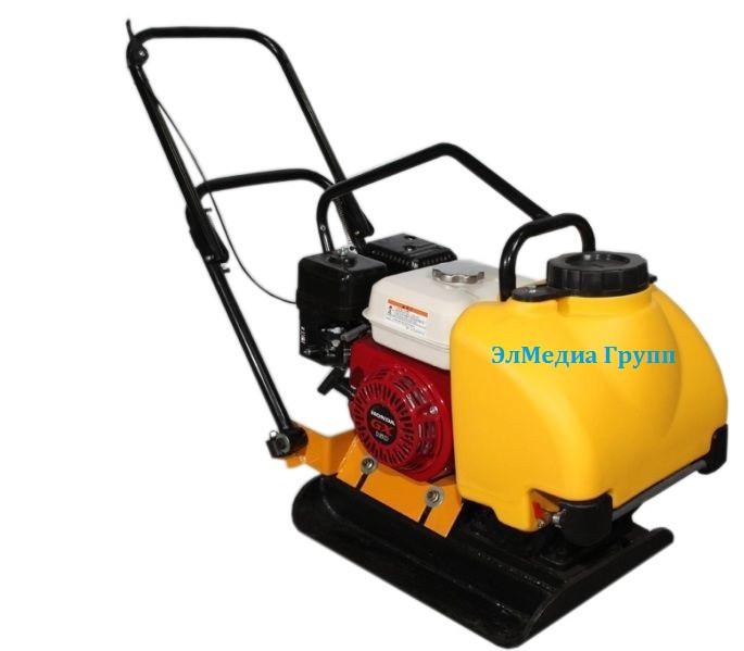 Виброплиты бензиновые с двигателем Lifan, Honda. 60 кг, 80 кг, 100 кг, 160 кг.