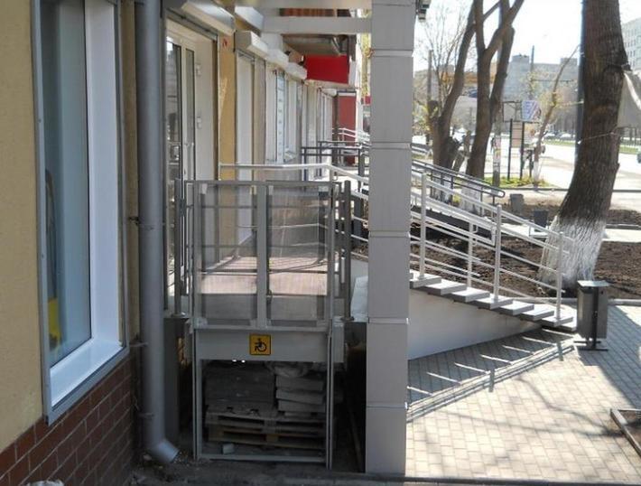 Подъёмник для инвалидов вертикальный