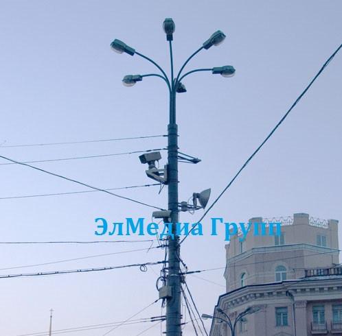 Мачта городского освещения