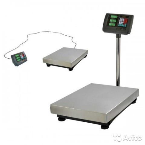Весы товарные электронные