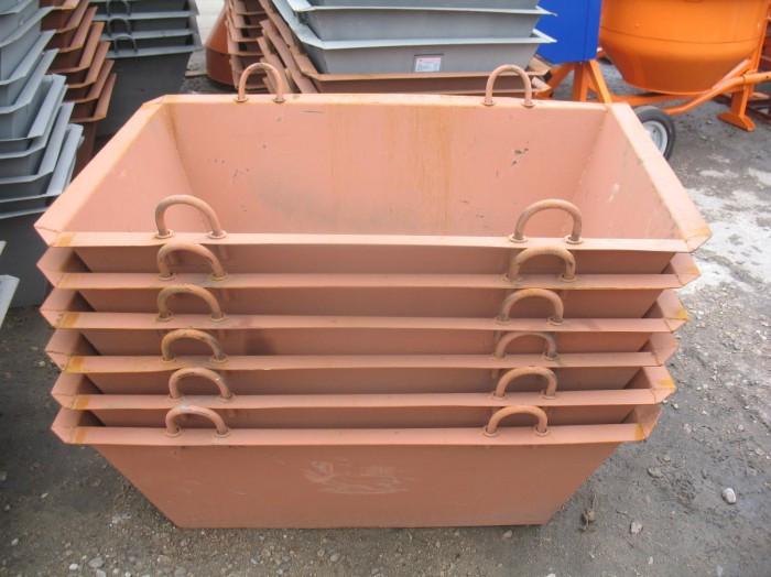 Тара для раствора - ящик каменщика 0.25, 0.35, 0.5, 1, 1.5, 2 м3