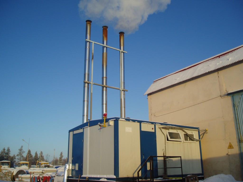 Модульные котельные газовые, на твердом топливе