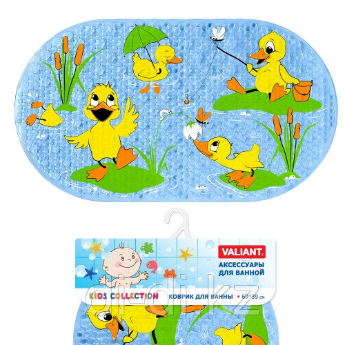"""Valiant Детский коврик для ванны """"УТЯТА"""""""