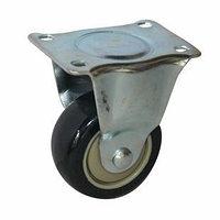 Мебельное колесо (ролик) неповоротное 50х25 мм