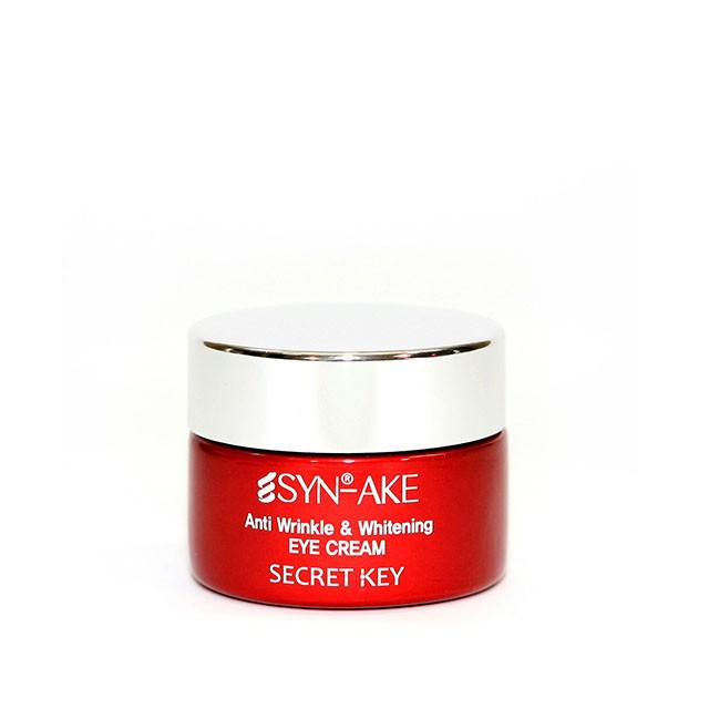 Secret Key Syn-Ake Anti-Wrinkle&Whitening Cream Крем для кожи вокруг глаз со змеиным ядом 15 мл