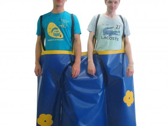 Командные штаны на двоих