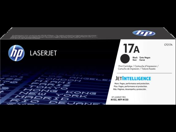 HP CF217A Оригинальный лазерный картридж картридж с тонером 17A Black LaserJet