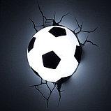 "Настенная лампа 3D ""Футбольный мяч"", фото 2"