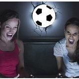 "Настенная лампа 3D ""Футбольный мяч"", фото 3"