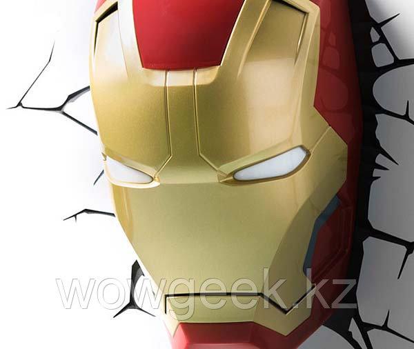 """Настенная лампа 3D """"Железный человек"""""""