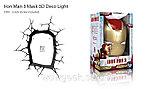 """Настенная лампа 3D """"Железный человек"""", фото 3"""