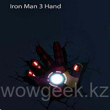 "3D светильник ""Рука железного человека"""