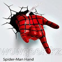 """3D светильник """"Рука спайдермена"""""""