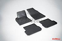 Коврики в салон Audi A6 2005-2011 (Клетка)