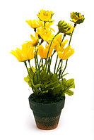 Горшочек с желтыми ромашками, фото 1