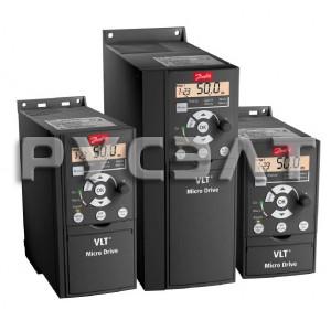 Преобразователь частоты Danfoss VLT Micro Drive 0,37кВт 1,2А