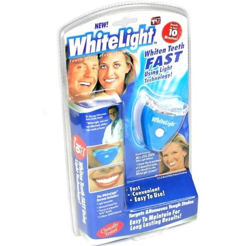 White Light — осветитель зубов!