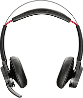 Bluetooth стерео гарнитура Poly Plantronics Voyager Focus UC, B825-M, MS, no stand (202652-04), фото 1