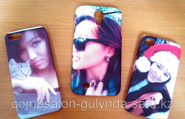 Чехлы для iPhone и  Samsung Galaxy  с собственным дизайном, печать на чехлах