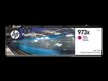 HP F6T82AE Оригинальный картридж HP PageWide увеличенной емкости, Красный HP 973X