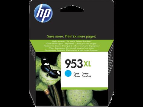 HP F6U16AE голубой экономичный картридж, №953XL