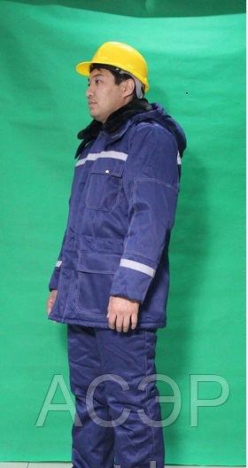 Зимний костюм для рабочих всех отраслей