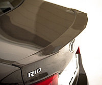 Спойлер на крышку багажника Kia Rio 2015+ рестайлинг, фото 1