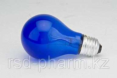 Лампа накаливания вольфрамовая (синяя) (60 Вт)