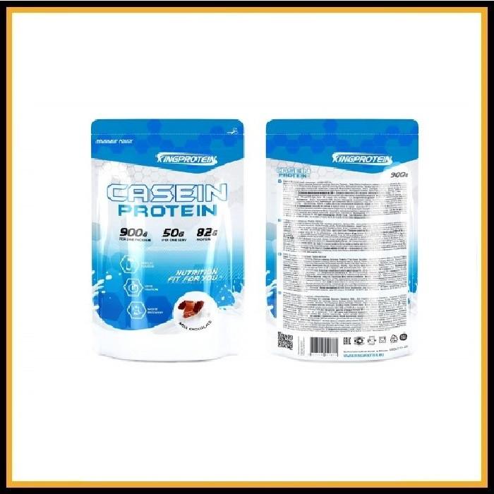 King Protein CASEIN PROTEIN, 900гр, Ванильный