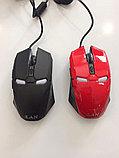 Мышь проводная Железный человек, фото 2