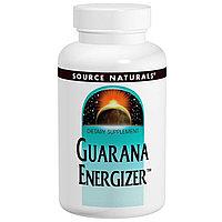 Source Naturals, Энергетик с гуараной, 60 таблеток.