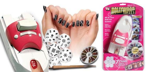 Принтер для дизайна ногтей Hollywood Nails